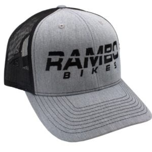 Rambo Hat Semi-Flat Bill