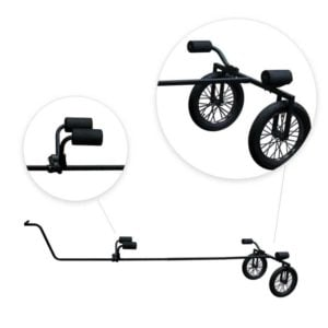 Rambo Electric bike Canoe and Kayak Trailer