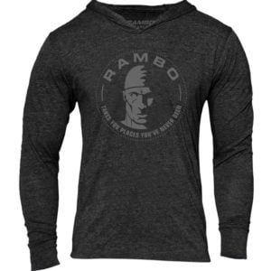 Rambo LOGO TB HOODIE – VINTAGE BLACK