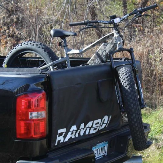 Rambo ebike Tail Gate Cover and Bike Hauler