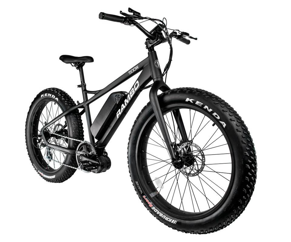 Rambo 500w Cruiser Electric Bike